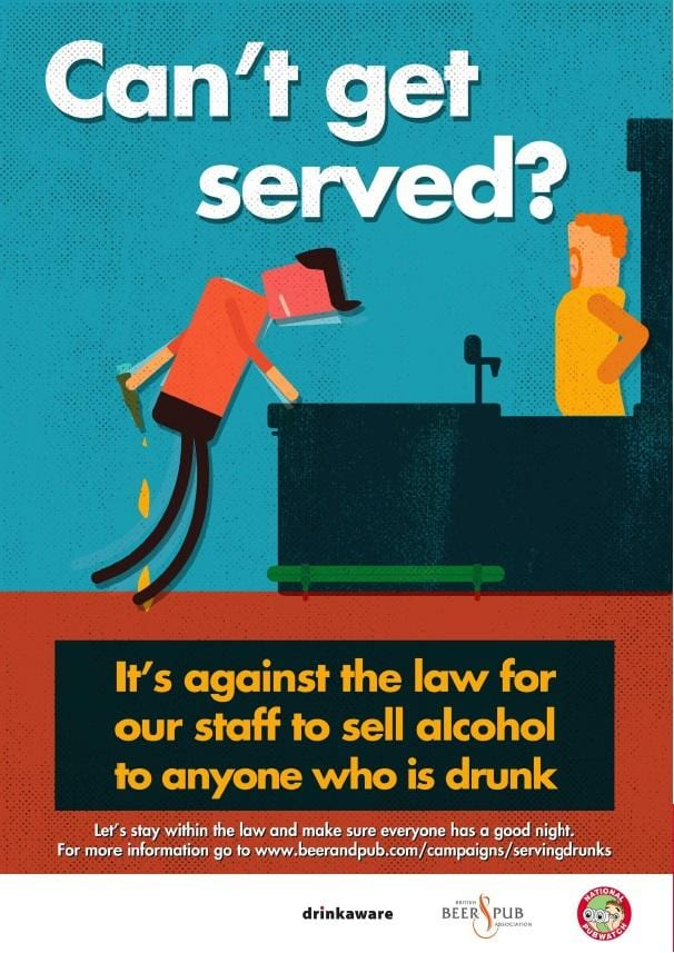 Can't get served poster (download)