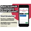 Want to speak to someone about alcohol? | free social media asset