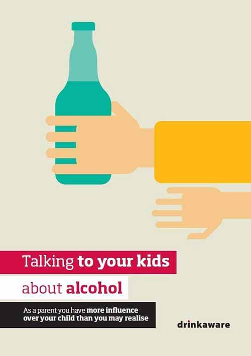 Talking to your kids about alcohol leaflet (download)