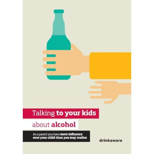Talking to your kids about alcohol leaflet