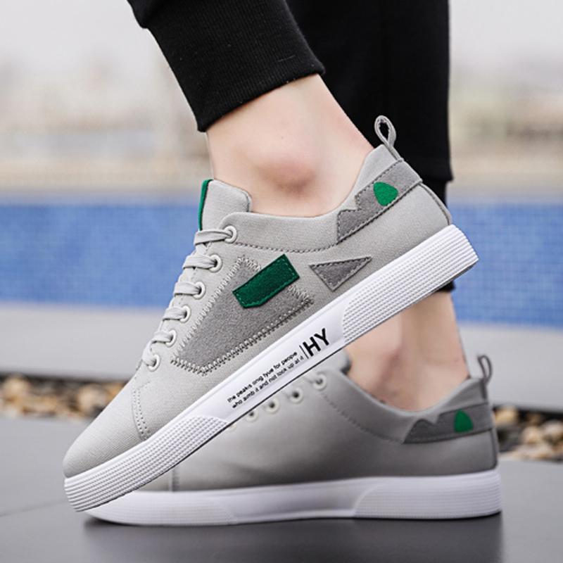 Canvas Lace Up Men's Sneakers