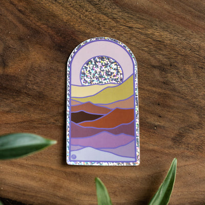 Glitter Scapes Stickers