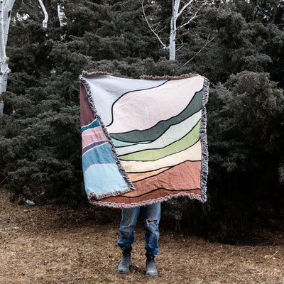PREORDER - Gr8 Escape Throw Blanket