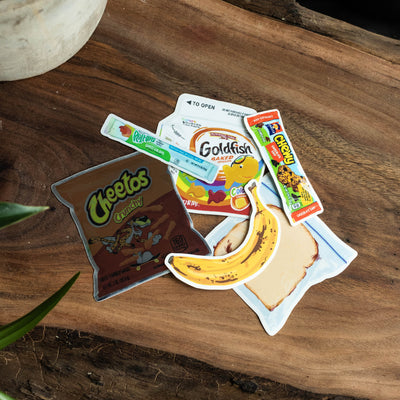 Snack Pack Stickers