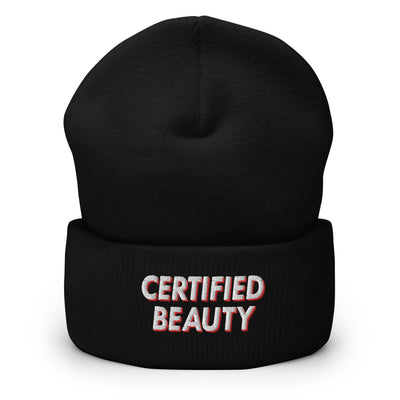 Certified Beauty Red beanie