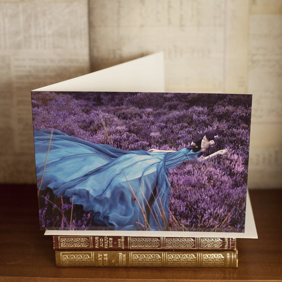 """Listen to the Colour of Your Dreams"" Greetings Card"