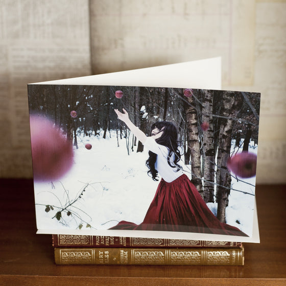 """Fallen"" Greetings Card"