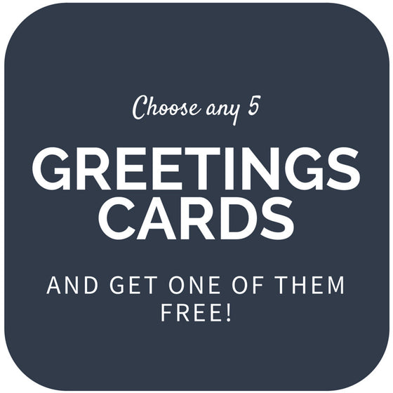 "Choose any 5 ""Tales from the Moors Country"" Greetings Cards"