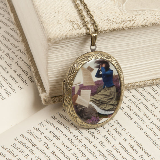 """Music for those who Listen"" Locket Necklace"
