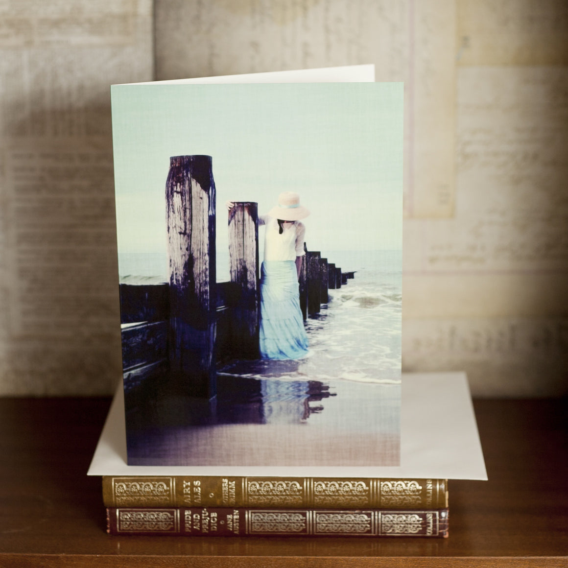 """Songs of the Sea"" Greetings Card"