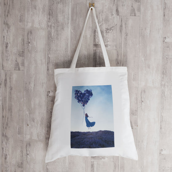 The Sky was Good for Flying Tote Bag