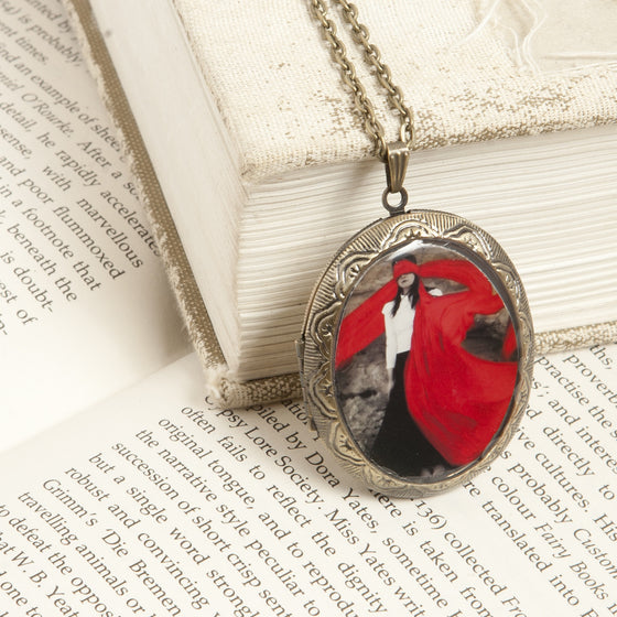 """The Weaker Side"" Locket Necklace"