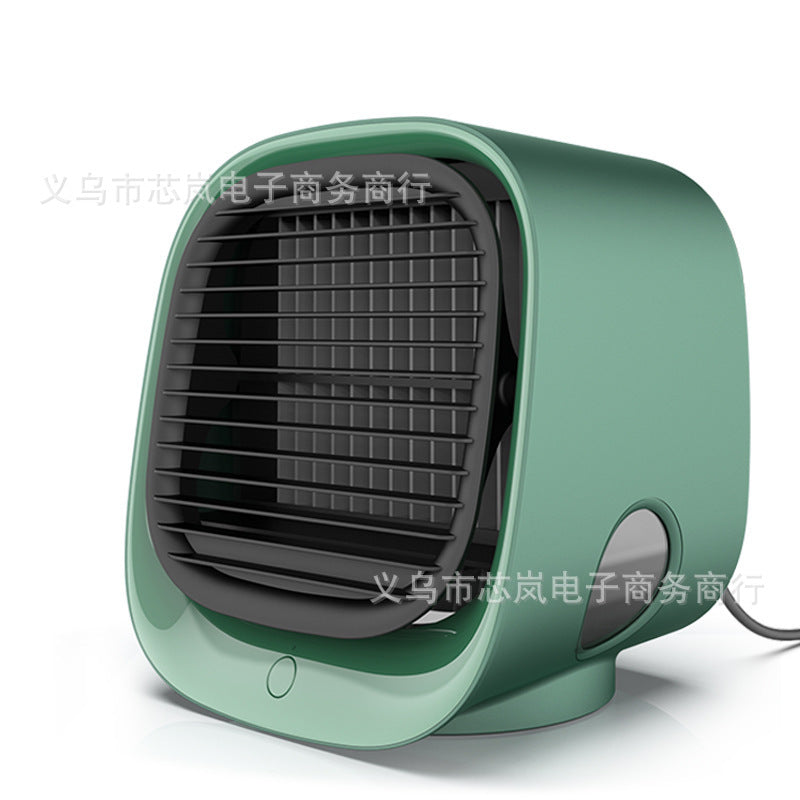 New air cooler cross-border portable refrigeration multifunctional household silent fan USB mini desktop air conditioning fan