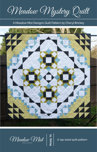 Meadow Mystery Quilt - PDF Pattern