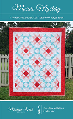 Mosaic Mystery Quilt - PDF Pattern