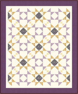 Mosaic Mystery Quit beginner friendly quilt pattern