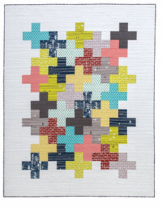 Modern Plus Sign Quilts Book - Signed Copies