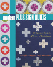 Load image into Gallery viewer, Modern Plus Sign Quilts Book