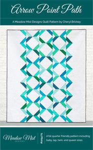 Arrow Point Path - Printed Pattern