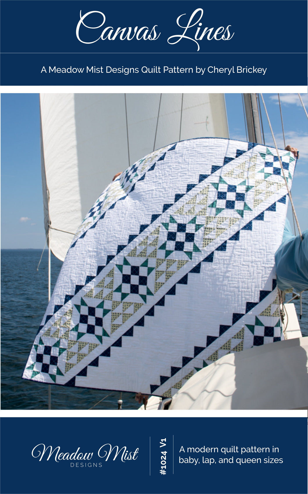 Canvas Lines - PDF Pattern
