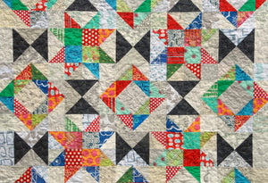 Foothills Mystery Quilt - PDF Pattern