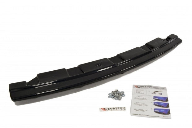 CENTRAL REAR SPLITTER BMW 5 F11 M-PACK (FITS TWO SINGLE EXHAUST ENDS)