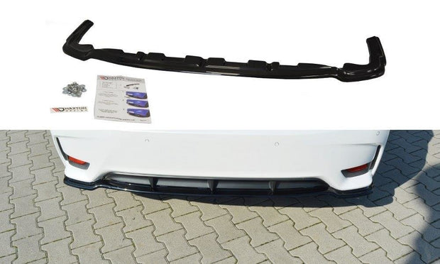 CENTRAL REAR SPLITTER LEXUS CT MK1 FACELIFT (WITHOUT VERTICAL BARS)