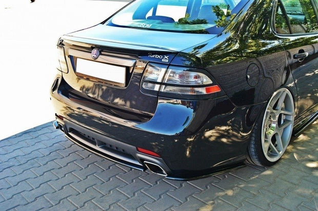 CENTRAL REAR SPLITTER SAAB 9-3 TURBO X