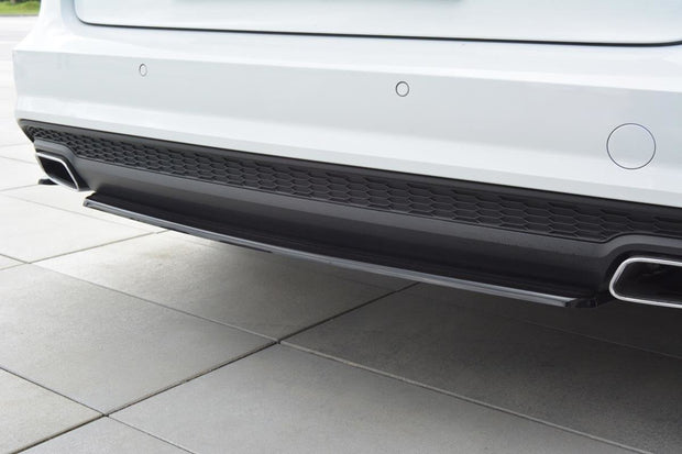 CENTRAL REAR SPLITTER AUDI A6 S-LINE C7 FL