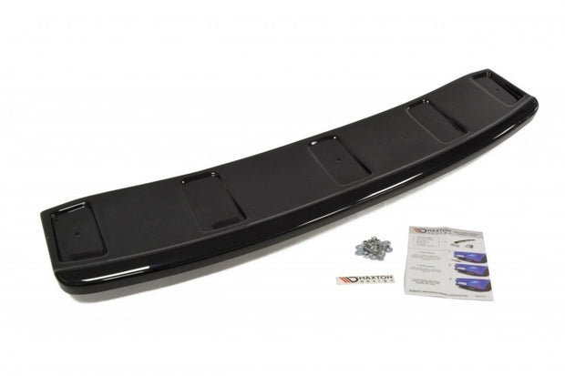CENTRAL REAR SPLITTER AUDI A7 S-LINE C7 FL (WITH VERTICAL BARS)
