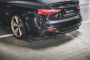 CENTRAL REAR SPLITTER AUDI RS5 F5 FACELIFT
