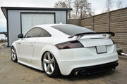 CENTRAL REAR SPLITTER AUDI TT S 8J (WITH A VERTICAL BAR)