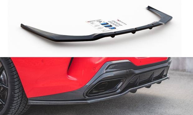 CENTRAL REAR SPLITTER (WITH VERTICAL BARS) BMW M850I G15