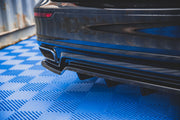 CENTRAL REAR SPLITTER (WITH VERTICAL BARS) VOLVO S60 R-DESIGN MK3