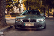 FRONT RACING SPLITTER BMW Z4 COUPE E86