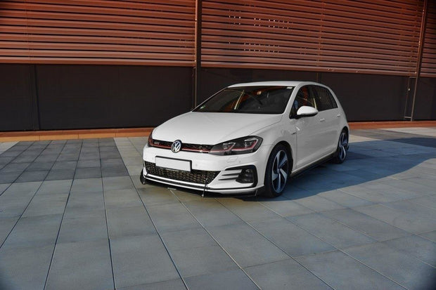 FRONT RACING SPLITTER V.2 VW GOLF VII GTI FACELIFT
