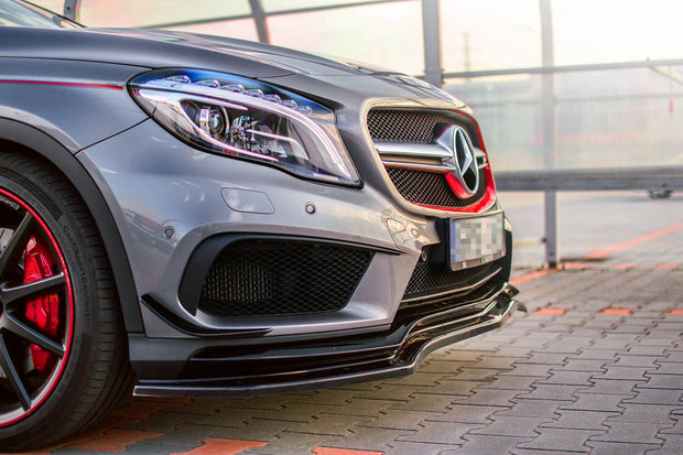 FRONT SPLITTER MERCEDES-BENZ GLA 45 AMG SUV (X156) PREFACE