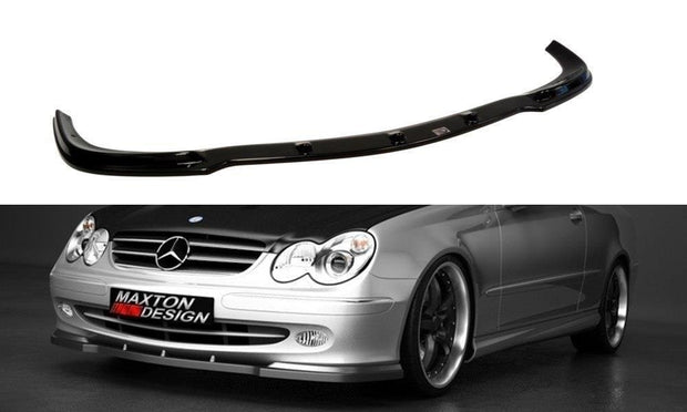 FRONT SPLITTER MERCEDES CLK W 209 FOR STANDARD VERSION