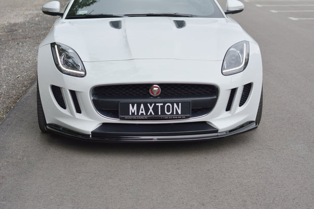 FRONT SPLITTER V.1 JAGUAR F-TYPE