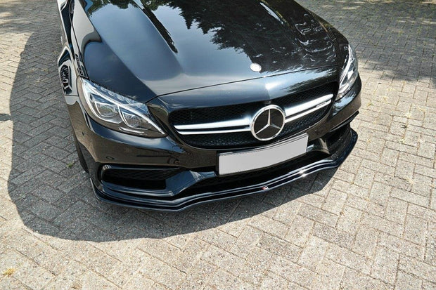 FRONT SPLITTER V.1 MERCEDES C-CLASS S205 63AMG ESTATE/LIMUSINE