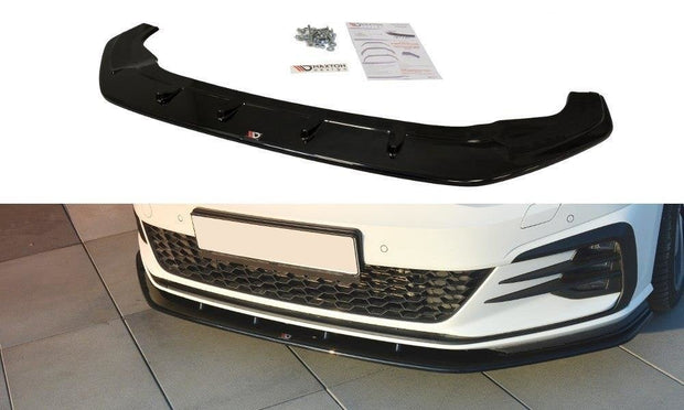 FRONT SPLITTER VW GOLF VII GTI FACELIFT V.1