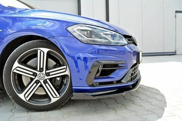 FRONT SPLITTER V.1 VW GOLF VII R (FACELIFT)