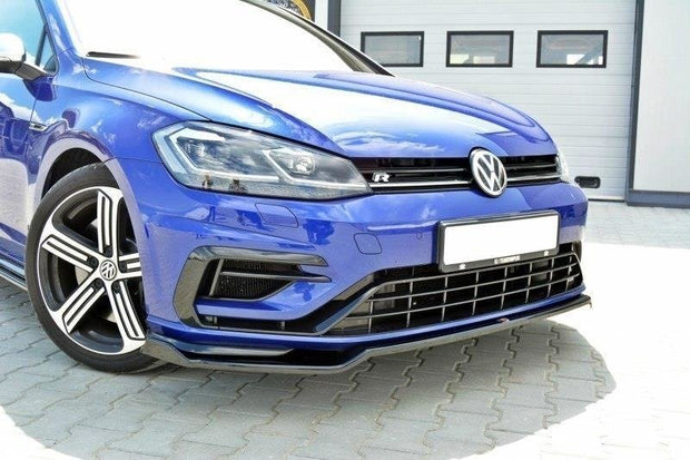 FRONT SPLITTER V.2 VW GOLF VII R (FACELIFT)