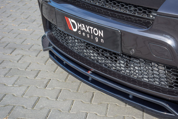 FRONT SPLITTER BMW X5 E70 FACELIFT M-PACK