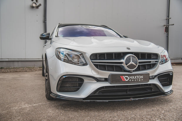 FRONT SPLITTER V.2 MERCEDES-BENZ E63 AMG ESTATE/SEDAN S213/W213