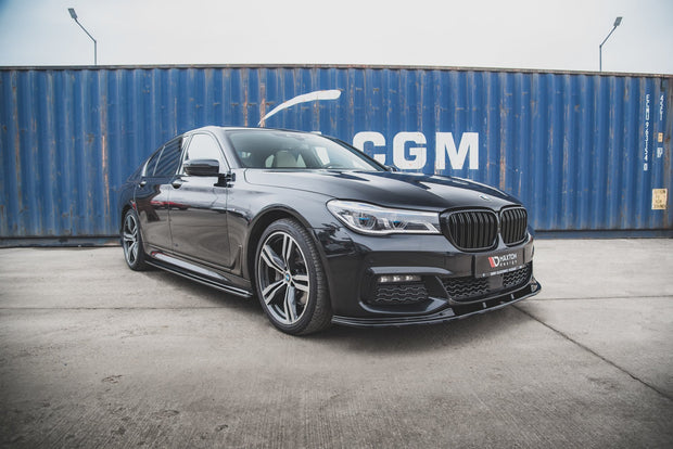 FRONT SPLITTER V.2 FOR BMW 7 M-PACK G11