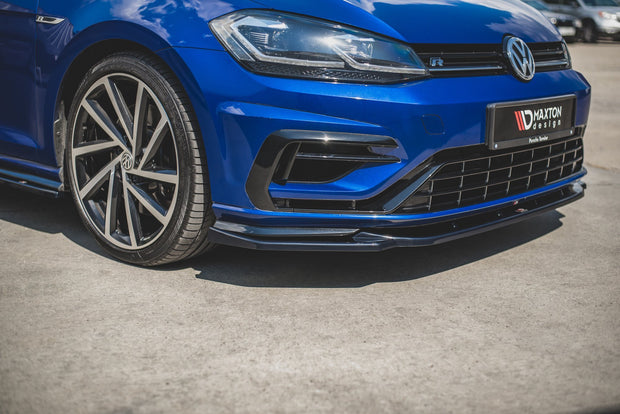 FRONT SPLITTER V.9 VW GOLF 7 R FACELIFT