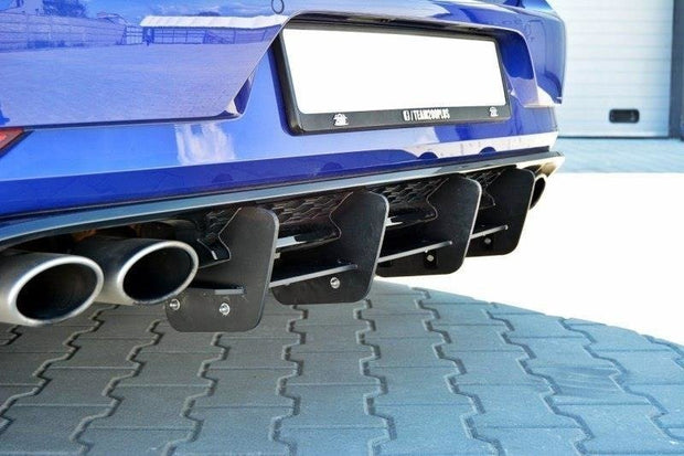 REAR DIFFUSER VW GOLF VII R (FACELIFT)