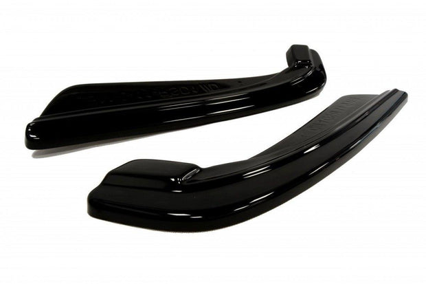 REAR SIDE SPLITTERS BMW 5 F11 M-PACK (FITS TWO SINGLE EXHAUST ENDS)