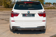 REAR SIDE SPLITTERS BMW X3 F25 M-PACK FACELIFT